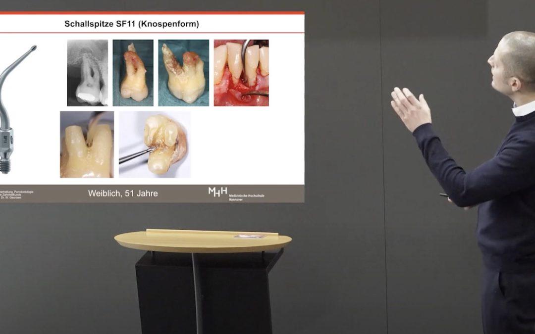 Vortrag: Parodontitistherapie ohne Haken