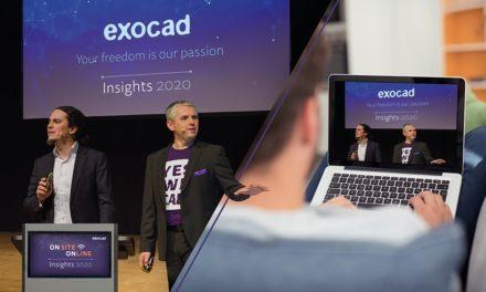 exocad Insights 2020: globales Hybrid-Event am 21. und 22. September 2020