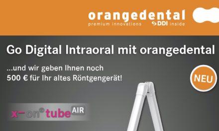 Go Digital Intraoral mit orangedental