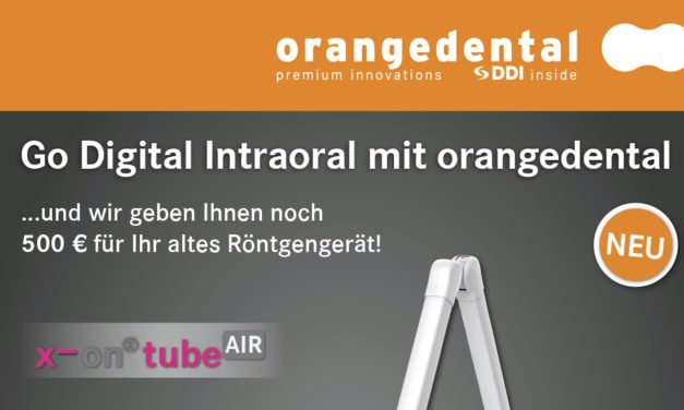 Go Digital Intraoral mit orangedental