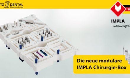 Neue modulare IMPLA Chirurgie-Box