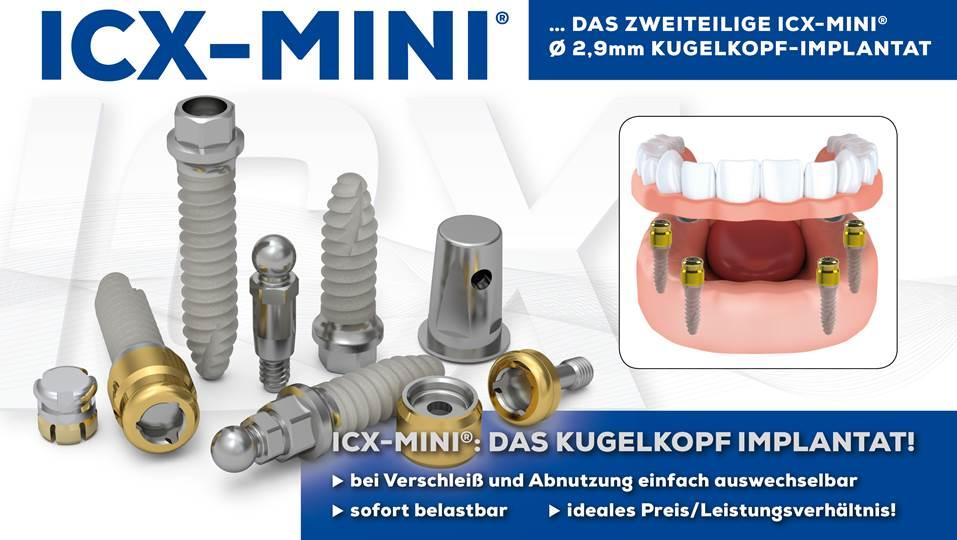 Minimalinvasives OP-Protokoll der ICX-MINI