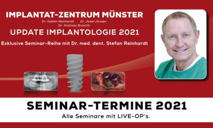 medentis medical: Exklusive Seminar-Reihe mit Dr. med. dent. Stefan Reinhardt