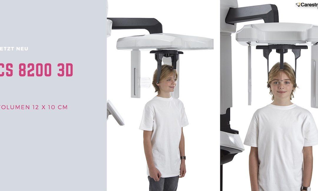 DVT: Carestream Dental erweitert DVT-Portfolio mit dem Volumen 12×10 cm (CS 8200 3D)