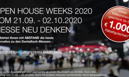 Open House Weeks: Impulse für den Praxis- und Laboralltag