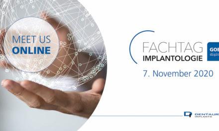 Fachtag Implantologie goes digital Meet us online!