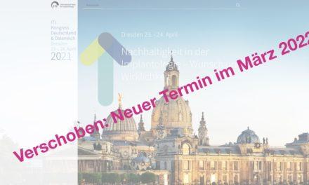 Verschoben: ITI Kongress Deutschland und Österreich von 2021 auf 2022