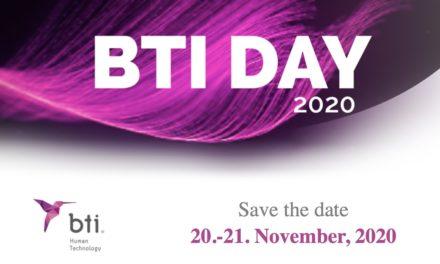 BTI Day online 20. bis 21.11.2020