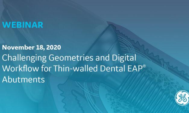 Webinar (EAP Abutments): Das Potenzial des 3D-Drucks in der Implantologie