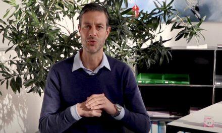 Adrian Hunn (CEO Dentalpoint AG) sagt Dankeschön