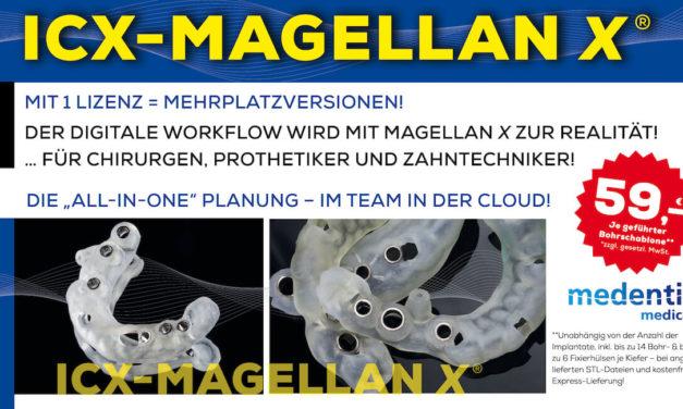Der digitale Workflow wird mit ICX-Magellan X zur Realität