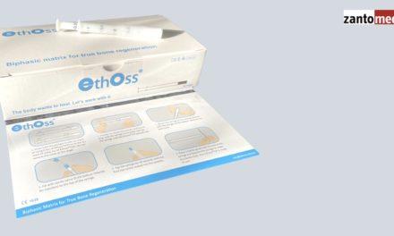 Zantomed übernimmt Exklusivvertrieb für EthOss ß-TCP Knochenregeneration