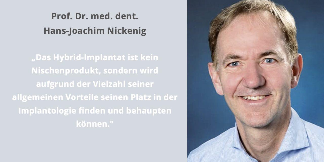 Hybrid-Implantat: Ein Titan-Implantat für Keramik-Fans?
