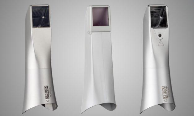 Ab sofort für Primescan: autoklavierbare Hülse aus Edelstahl mit Einwegfenster