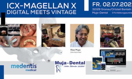 medentis medical: ICX-MAGELLAN X DIGITAL meets VINTAGE, Gronau