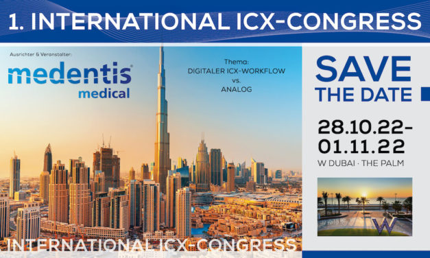 medentis medical: 1. Internationaler ICX-Kongress in Dubai