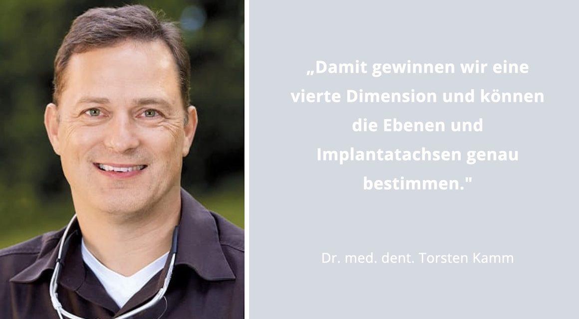 """Schablonengeführte Implantologie: """"Ein Riesenschritt nach vorne"""""""