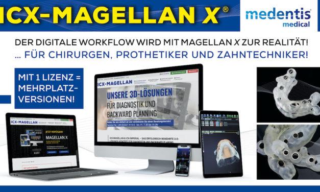 ICX-Magellan und ICX-Imperial: Die bewährte 3D-Lösung für Diagnostik und Backward Planning
