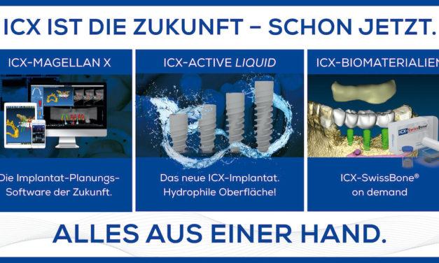 Mit ICX sind Sie für alle Fälle vorbereitet!