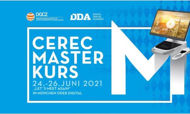 9. CEREC Masterkurs: Fundiertes Wissen rund um das vielseitige CAD/CAM-System