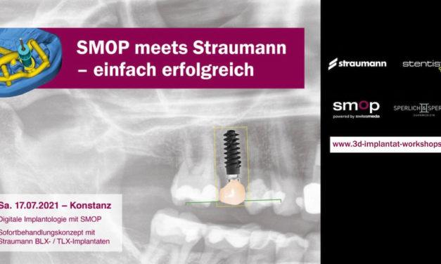 SMOP meets Straumann: Digitale Implantologie mit SMOP