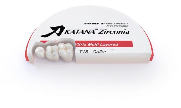 Neue Ära im Bereich des Multi-Layered Zirkonoxids: KATANA ZIRCONIA YML