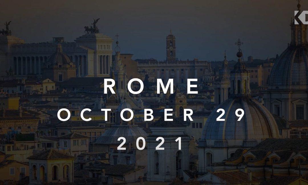 Back to life! Rom, 29. Okt. 2021: Implantologie-Fortbildungs-Kongress der Keystone Dental Group