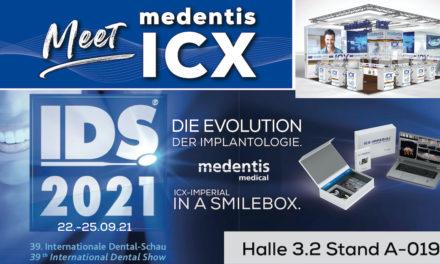 medentis auf der IDS vom 22.-25.09.21 in Köln