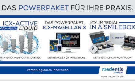 medentis medical: Das Powerpaket von ICX für Ihre Praxis