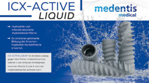 medentis medical: ICX-ACTIVE LIQUID erobert die Praxen!